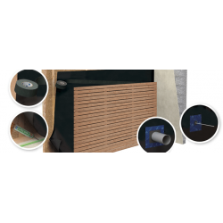 Rouleau de 50 x 1.50M ecran sous bardage triple couche - UV solitex front - sd 0.05 m (75m²)(20u/pal)