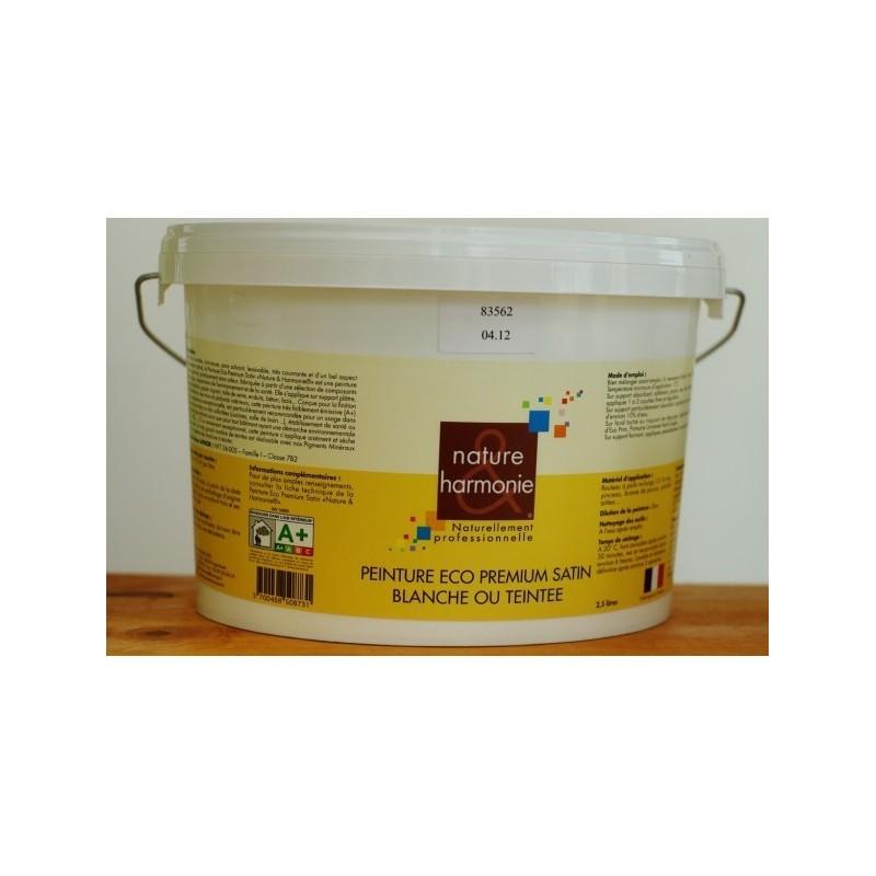 Peinture Eco Premium SATIN Blanche N & H