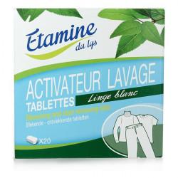 Tablette activateur linge blanc