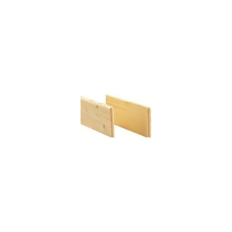 Plinthes épicea - ép 10 mm / H : 7 cm / L 4,5 cm