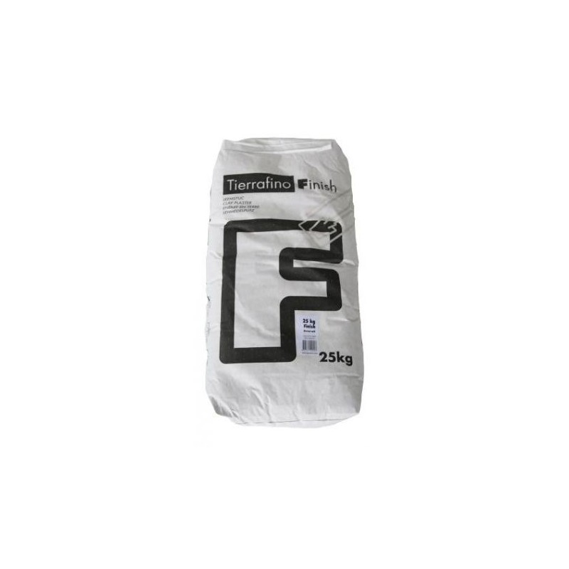 Enduit Argile fin Tierrafino sac 25kg